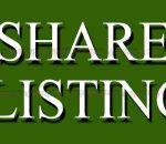share listing