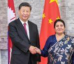 china and nepal rastrapati