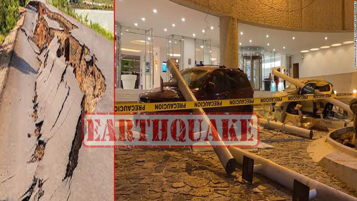 earthquake in mexxiko